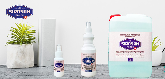 ADEX PRODUCT srl - Dezinfectant Sirosan